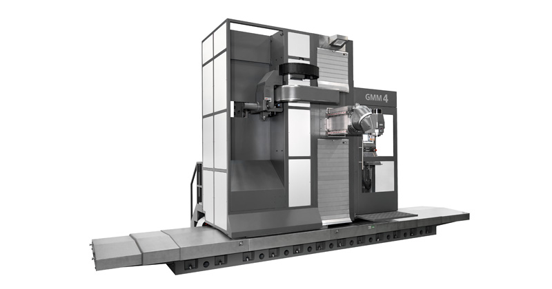 Fresadora Floor Type Multiprocesso - Obs: Fresamento e Torneamento
