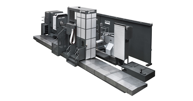 GM11 - Torno Multiprocesso Horizontal